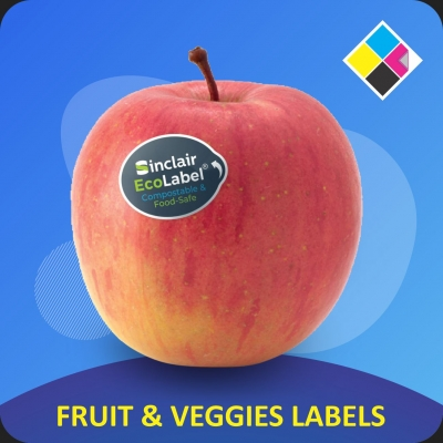 FRUIT & VEGGIES LABELS