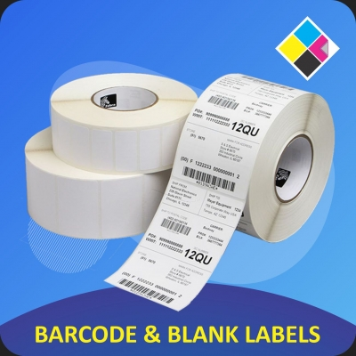 BARCODE & BLANK LABELS