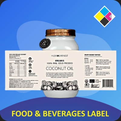 FOOD & BEVERAGES LABELS