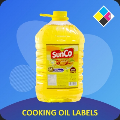 COOKING OIL LABELS